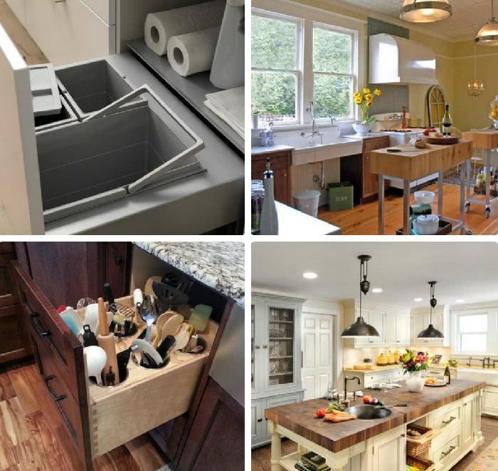 10 бюджетных и необычных идей для тех, кто решил заняться ремонтом. С полом на кухне понравилась!