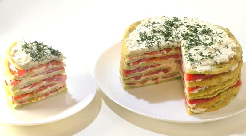 Как приготовить торт из кабачков