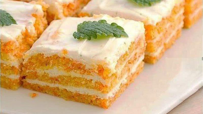 Когда хочется сладенького, готовлю этот десерт.  Ем сколько влезет, а талия как у балерины!