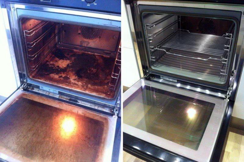Кто ненавидит чистить духовку, полюбит этот прием. Сияющий блеск без лишних усилий.