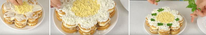 Рецепт закусочного торта из крекеров