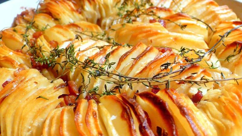 Рецепт запеченного с тимьяном картофеля
