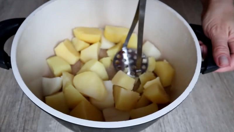 Рецепт запеканки с фаршем и картофелем