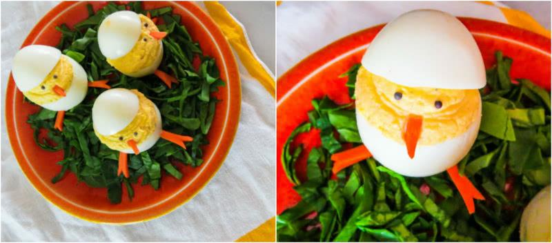 Стоит разрезать яйцо пополам, чтобы приготовить нечто чудесное к пасхальному торжеству!