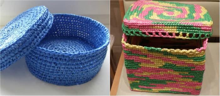 Вот что изобретательная мастерица сделала с обычными пластиковыми пакетами: придумка на МИЛЛИОН!