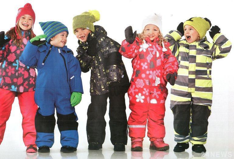 теплая детская одежда